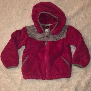Girls fleece North Face Jacket